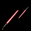 Sith lightsaber and shoto by zylo the wolfbane