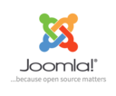 Joomla vertical logo light background tagline en